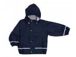 Kiba nepromokavá dětská bunda modrá 7let=116/122
