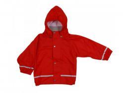 Kiba nepromokavá dětská bunda červená