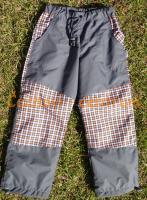 Fantom dětské kalhoty šedé -  podšité 134 -