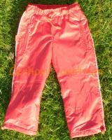 Fantom dětské kalhoty zateplené červené